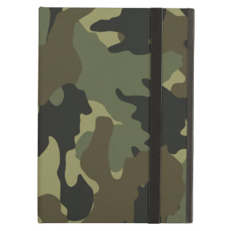 Military Khaki Green Camo iCase iPad Air Cases