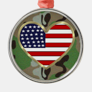 Military Love Christmas Ornament