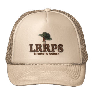 Military LRRP LRRPS Recon Snipers Army Marines Cap