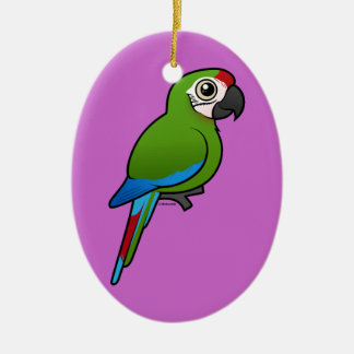 Military Macaw Christmas Ornament