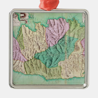 Military map of Corsica, 1768 Christmas Ornament