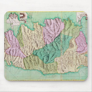 Military map of Corsica, 1768 Mouse Mat