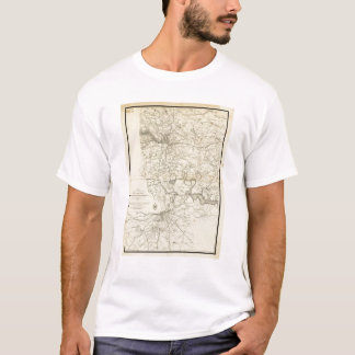 Military Map of the United States T-Shirt