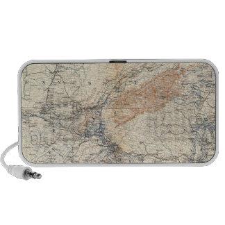 Military map, WT Sherman Travelling Speaker