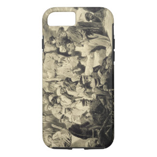 Military Meal in the Ruins at Sioukh, Dagestan, pl iPhone 7 Case