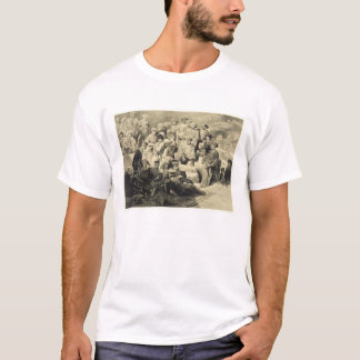 Military Meal in the Ruins at Sioukh, Dagestan, pl T-Shirt