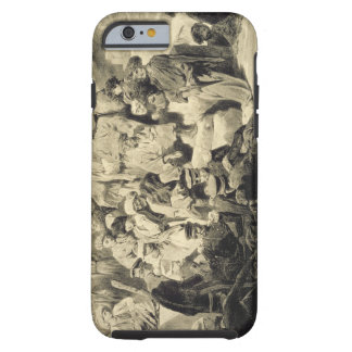 Military Meal in the Ruins at Sioukh, Dagestan, pl Tough iPhone 6 Case