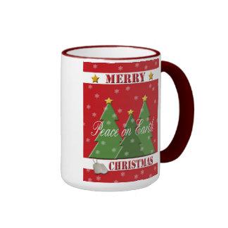 Military Merry Christmas Peace Coffee Mug