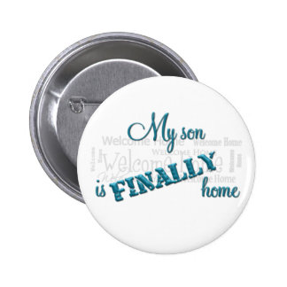 Military Mom-Homecoming button