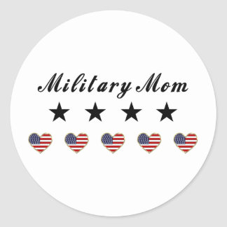 Military Mom Sticker