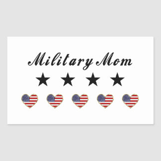 Military Mom Stickers