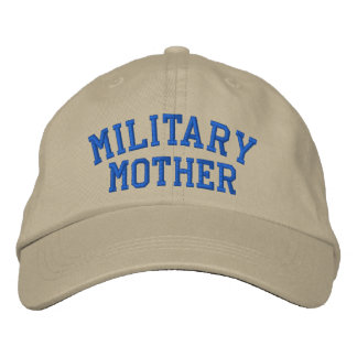 Military Mother Cap by SRF Embroidered Baseball Cap