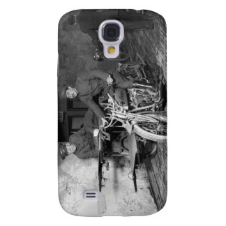 Military Motorcycle EMT, 1910s Samsung Galaxy S4 Case