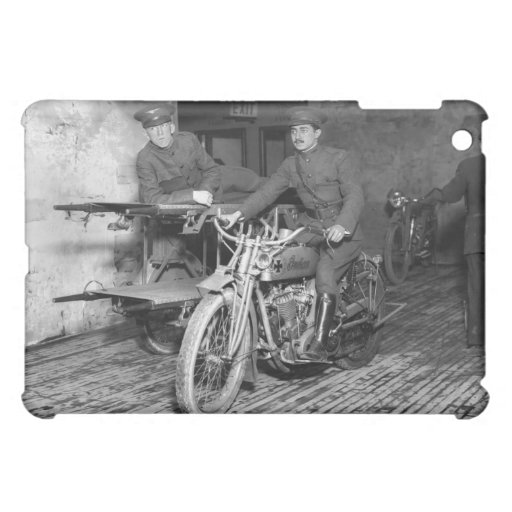 Military Motorcycle EMT, 1910s iPad Mini Case
