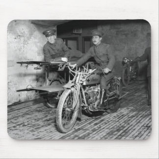 Military Motorcycle EMT, 1910s Mouse Mat