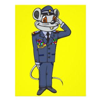Military Mouse 21.5 Cm X 28 Cm Flyer