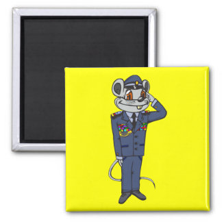 Military Mouse Magnet