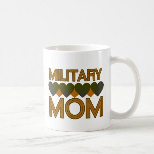 Military Mum Basic White Mug
