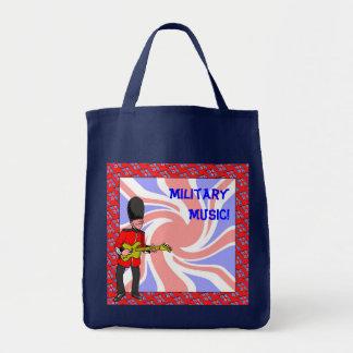 Military Music Tote Bag