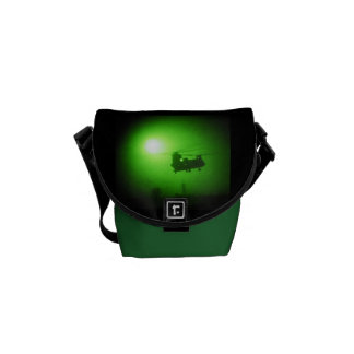 Military night vision helicopter courier bags
