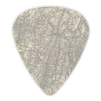 Military Operations of the Atlanta Campaign 2 Acetal Guitar Pick