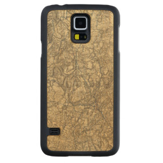 Military Operations of the Atlanta Campaign 2 Carved Maple Galaxy S5 Case