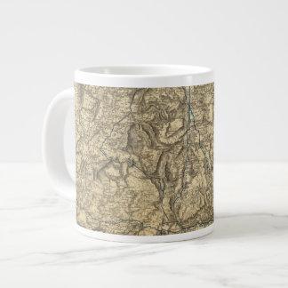 Military Operations of the Atlanta Campaign 2 Large Coffee Mug