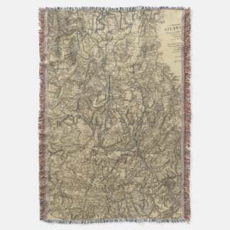 Military Operations of the Atlanta Campaign 2 Throw Blanket