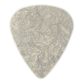 Military Operations of the Atlanta Campaign 3 Acetal Guitar Pick