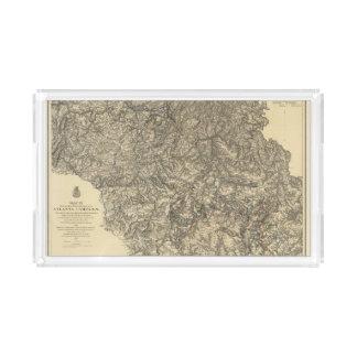 Military Operations of the Atlanta Campaign 3 Acrylic Tray