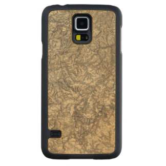 Military Operations of the Atlanta Campaign 3 Carved Maple Galaxy S5 Case