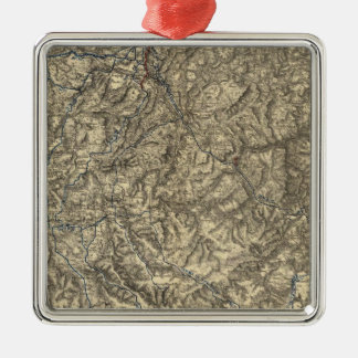 Military Operations of the Atlanta Campaign 3 Christmas Ornament
