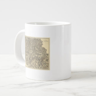 Military Operations of the Atlanta Campaign 3 Large Coffee Mug