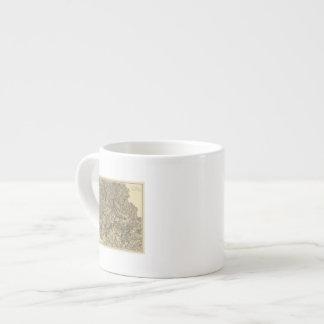 Military Operations of the Atlanta Campaign 3 Espresso Mug
