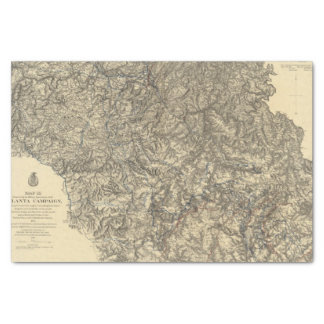 Military Operations of the Atlanta Campaign 3 Tissue Paper