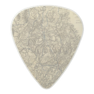 Military Operations of the Atlanta Campaign Acetal Guitar Pick