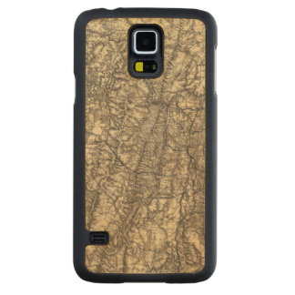 Military Operations of the Atlanta Campaign Carved Maple Galaxy S5 Case