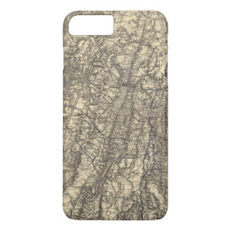 Military Operations of the Atlanta Campaign iPhone 8 Plus/7 Plus Case