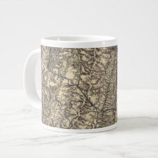 Military Operations of the Atlanta Campaign Large Coffee Mug