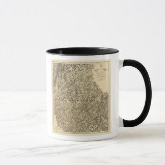 Military Operations of the Atlanta Campaign Mug