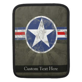 Military Patriotic Vintage Star iPad Sleeve