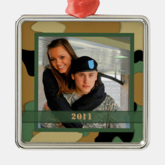 Military Photo Keepsake Ornament