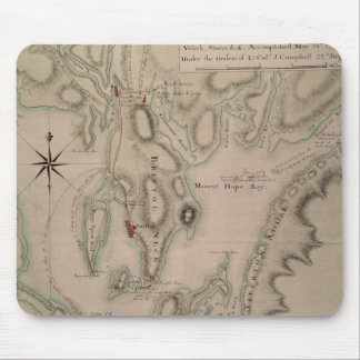 Military plan of the North Part of Rhode Mouse Mat