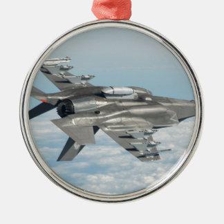 Military plane christmas ornament