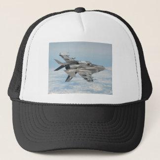 Military plane trucker hat