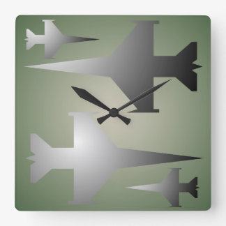 Military Planes Wall Clock