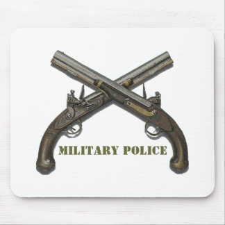 Military Police Crossed Pistols Mouse Mat
