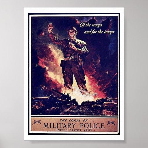 Military Police Print