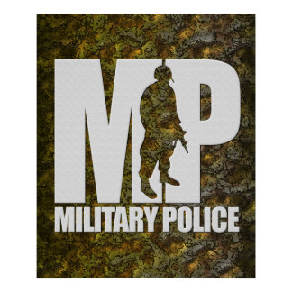 Military Police Poster