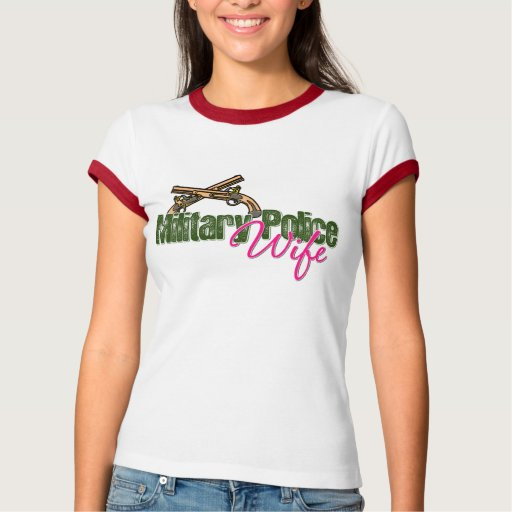 Military Police Wife T-shirts